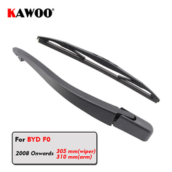 KAWOO Car Rear Wiper Blades Back Window Wipers Arm For BYD F0 Hatchback (2008 Onwards) 305mm Auto Windscreen Blade Accessories