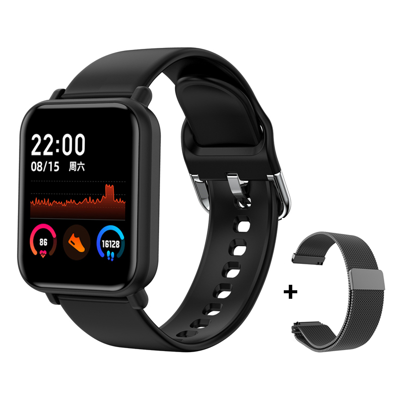 cheapest Smart Watch R7 Women Man Heart Rate Blood Oxygen Pressure Bracelet IP68 Sport Fitness Tracker SmartWatch For IOS Android VS P8