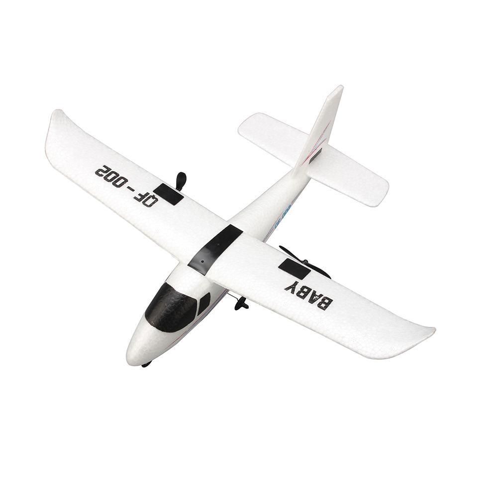 RCtown-pilote d'avion avec télécommande, mousse artisanale électrique RTF EPP, jouet RC à aile fixe pour l'extérieur, QF-002 352mm, envergure 2.4G, 2 canaux 3
