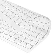 3Pcs Replacement Cutting Mat Transparent Adhesive Mat with Measuring Grid 12 by 12-Inch for Silhouette Cameo Plotter Machine
