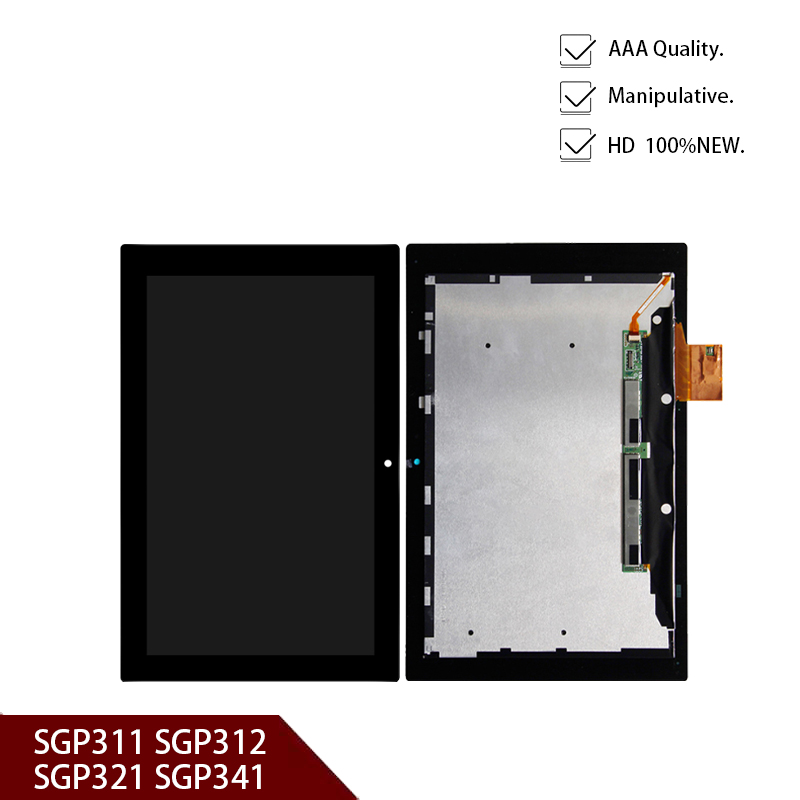 New 10.1'' inch for <font><b>sony</b></font> Xperia Tablet Z <font><b>SGP311</b></font> SGP312 SGP321 SGP341 LCD display + touch screen digitizer Replacement image