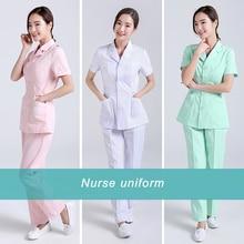 Nurse Medical Uniform Hospital Workwear Laboratory Beauty Salon Doctor Operating Room Pharmacy Work Clothes Pet Shop Scrub Set