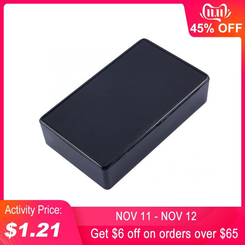 Plastic Waterproof Cover Electronic Project Instrument Enclosure DIY Box Case Junction Box Housing 100 X 60 X 25 Mm Black