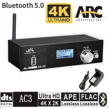 HD915 HDMI 5.1CH Audio Decoder Bluetooth 5.0 Reciever DAC DTS AC3 FLAC APE 4K*2K HDMI to HDMI Extractor Converter SPDIF ARC