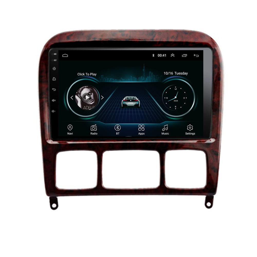 Android 8.1 For Mercedes Benz S Class W220 S280 S320 S350 S400 S430 S500 S600 S55 AMG Multimedia Stereo Car Player  GPS Radio