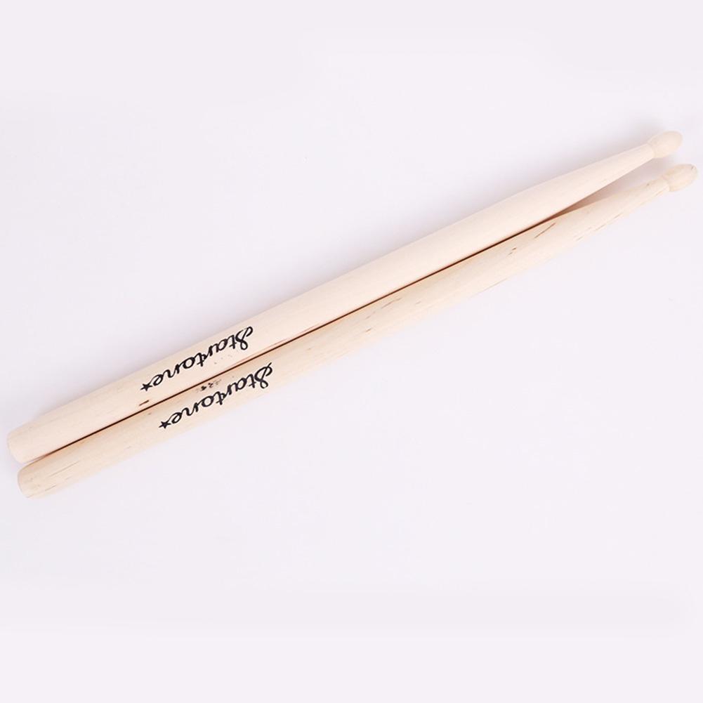 1 Pair Maple Wood Children's Drum Sticks Anti-slip Drumsticks Music Toy For Kids Jazz 5A Electronic Drum