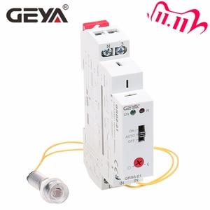 Image 1 - 送料無料 geya GRB8 01 トワイライトとスイッチセンサー AC110V 240V 光電センサーリレー