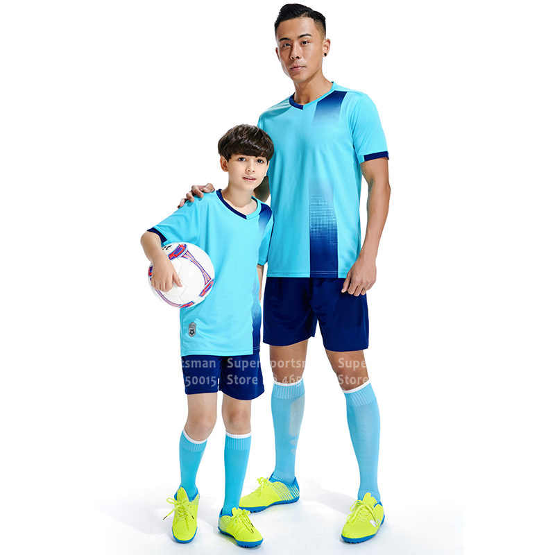 Çocuk spor futbol formaları eğitim T-shirt şort spor takım elbise çocuk basketbolu futbol spor eşofman Run koşu seti