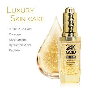 Image 2 - Neutriherbs 24 K Gold Serum Gesicht Serum mit hyaluronsäure Pflege Essenz Befeuchten und Aufhellung Haut