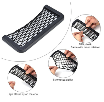 1PC Envelop Car Storage Bag net pocket Accessories for BMW E46 E39 E90 E36 E60 E34 E30 F30 F10 E53 X1 X3 X5 X6 Z3 Z4 E38 E83 image