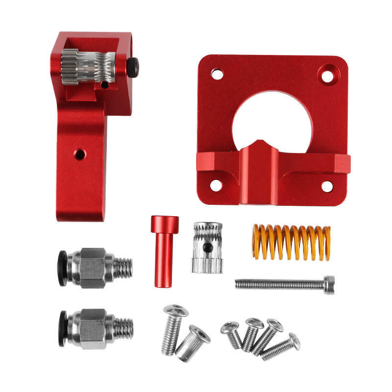 Upgraded Replacement CR 10S Pro Extruder Dual Drive Gear Aluminum Extruder Kit Drive Feed for 3D Printer Creality CR 10  CR 10S|3D Printer Parts & Accessories| |  - title=