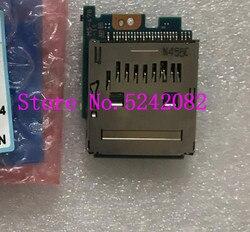 new original for Sony HDR-PJ200 PJ220 XR260 CX390 PJ390 card board card slot Camera Repair Part