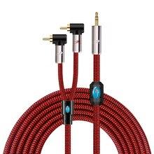 """แจ็คมินิแจ็ค2 RCA AudiophileสำหรับPCโทรศัพท์มือถือแท็บเล็ตลำโพง1/8 """"3.5มม.คู่มุมRCA Hifi Cable 1M 2M 3M 5M 8M"""