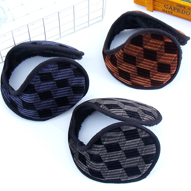 Winter Earmuffs Warm Ear Warmer Cashmere Ear Muff Ear Cover Back Wear Earflap For Men Women