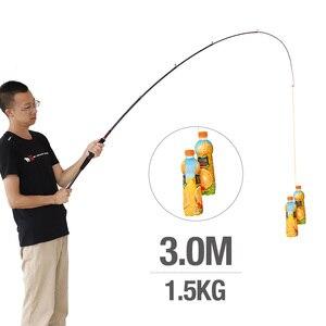 Image 5 - Donql vara de pesca telescópica para molinete, de fibra de carbono, para feeder, 1.8m 3.0m, para viagem, pesca de carpa equipamento
