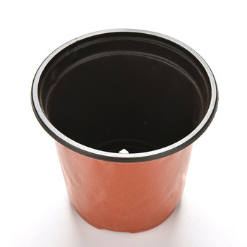 10 Pcs Mini Plastic Round Flower Pot Terracotta Nursery Planter Home Decor Lkj Refinement Nursery Pot Wholesale image