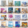 Imagine Scenery Paint By Numbers Hand Painted Home Decor Kits Drawing Canvas DIY Oil Coloring Painting Pictures By Numbers