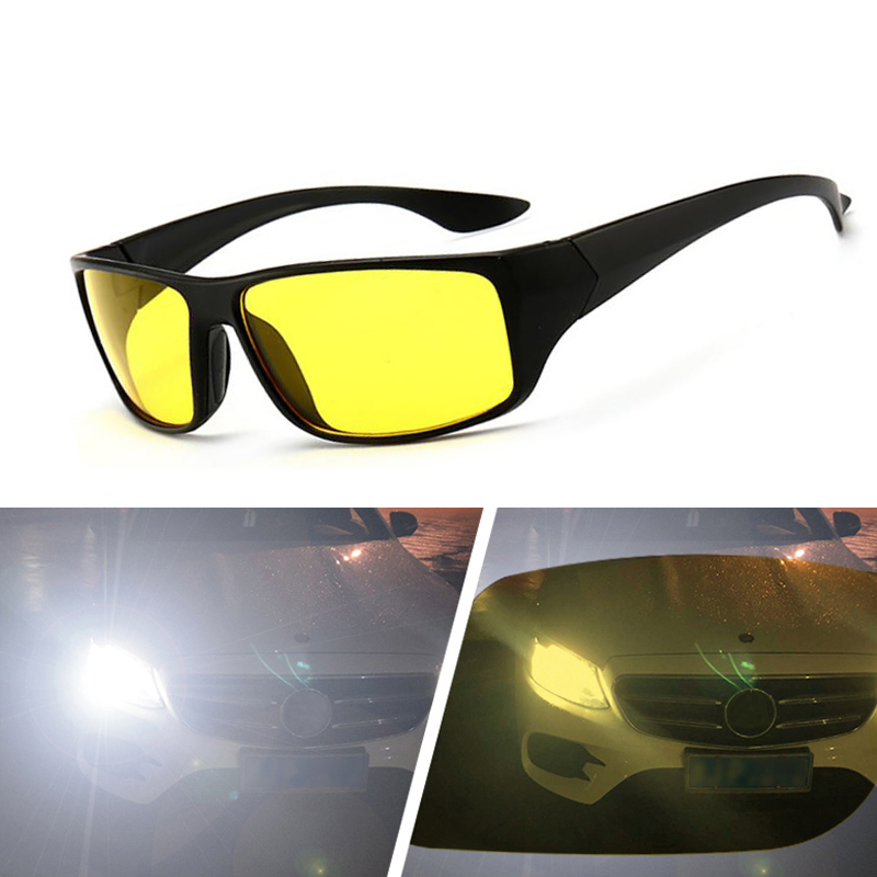 Night Vision Driver Goggles Sun Glasses Car Driving Glasses UV Protection Polarized Sunglasses Eyewear
