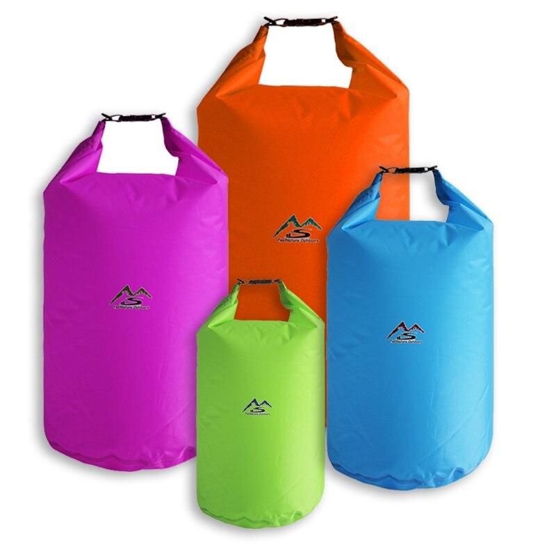 5L/10L/20L/40L/70L bolsa seca para nadar al aire libre bolsas impermeables saco impermeable flotante bolsas de equipo seco para la pesca descenso de ríos
