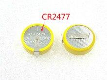 Original novo 2 pces cr2477 2477 bateria primária de lítio brandnew direto da fábrica a granel
