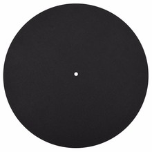1Pcs Ultra-Thin Anti-Static Lp Vinyl Turntable Record Player Pad For Phonographs Flat Soft Mat Record Slipmat Mat Pad(China)