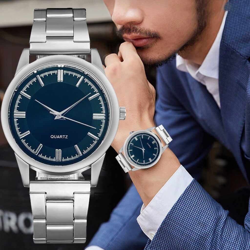 De los hombres de la moda de reloj de acero inoxidable de agua de Espana ver часы мужские Reloj inteligente multilingüe Huami Amazfit Bip GPS Glonass Smartwatch reloj inteligente Watchs 45 días en espera para teléfono Xiaomi MI8 IOS