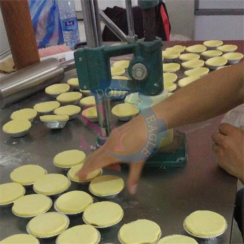 JZSY-M16 Household Cheap Small Portuguese Egg Tart Skin Hand Press Forming Machine