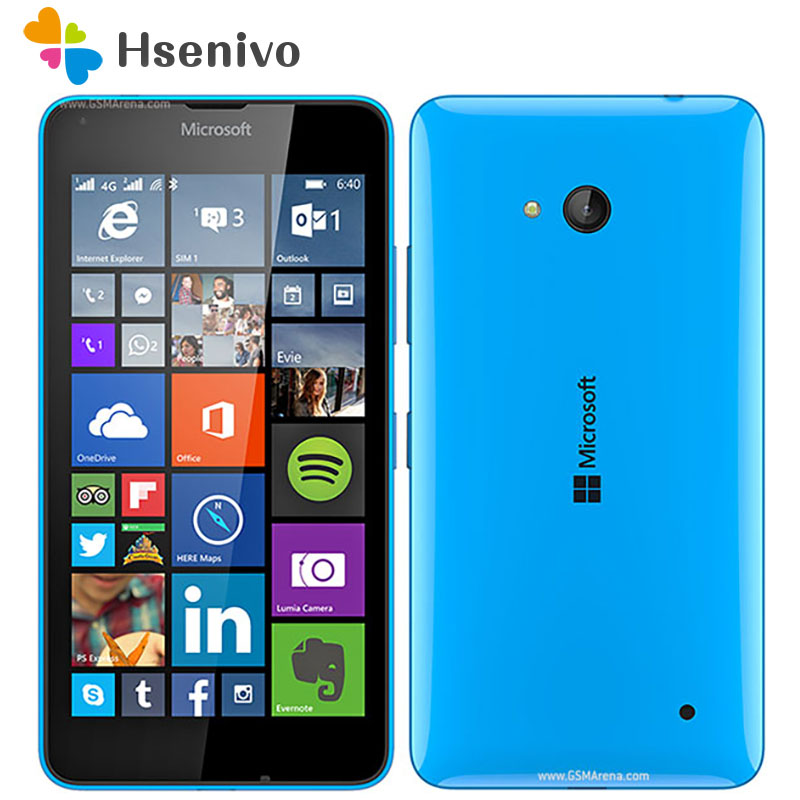 640 Original Microsoft Lumia 640 8MP Camera NFC Quad-core 8GB ROM 1GB RAM mobile phone 4G LTE FDD 4G 5.0 1280x720 4G cell phone image