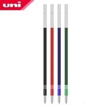 12 adet/grup Mitsubishi Uni SXR 80 07 için yedekler MSXE5 1000 07 tükenmez kalem 0.7mm İpucu 4 renk mürekkep ofis ve okul malzemeleri