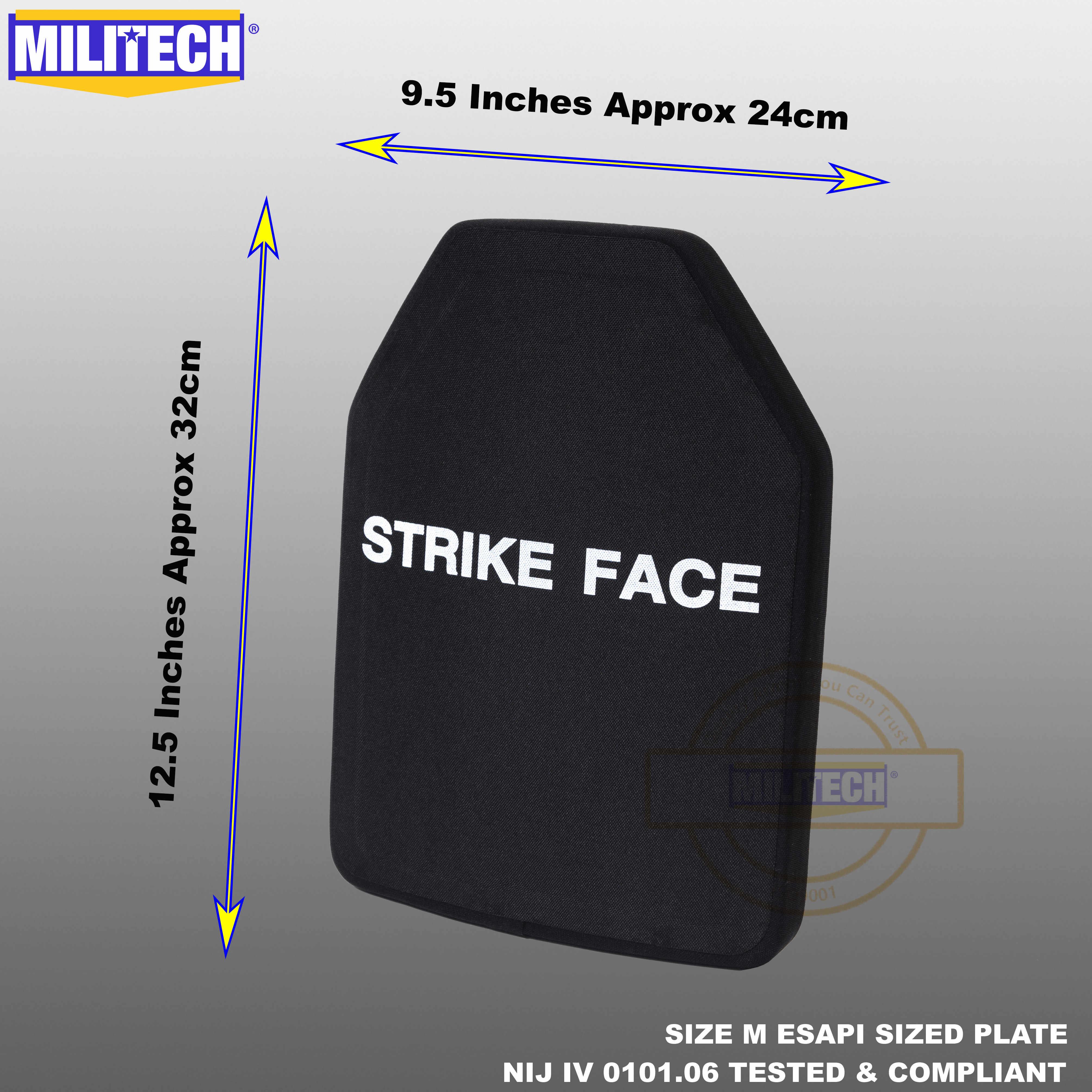 300 250 MUJING PE Bulletproof Board NIJ4 Dreistufige kugelsichere Verbundversion von China//Gewicht 2,7 kg 22 mm