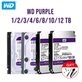 Жесткий диск WD Purple 1/2/3/4 Тб