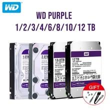 "Western Digital WD Viola Sorveglianza HDD 1TB 2TB 3TB 4TB SATA 6.0 Gb/s 3.5 ""Hard unità per la Macchina Fotografica del cctv AHD DVR IP NVR"