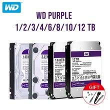 """Western Digital Wd Paars Surveillance Hdd 1Tb 2Tb 3Tb 4Tb Sata 6.0 Gb/s 3.5 """"Hard drive Voor Cctv Camera Ahd Dvr Ip Nvr"""
