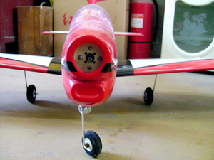 Image 3 - Light wood fixed wing like real remote control aircraft model aircraft model electric model aircraft aircraft woodpecker catch f