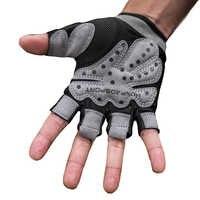 Sommer Halb Finger Sport Gym Handschuhe Stoßfest Fitness Handschuhe Gewichtheben Hantel Handschuhe Für Männer/frauen Nicht-Rutsch Langlebig
