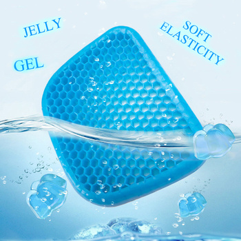 2020 best-selling new gel mat office cool summer breathable ice mat flexible cellular cushion boyfriend gifts 2