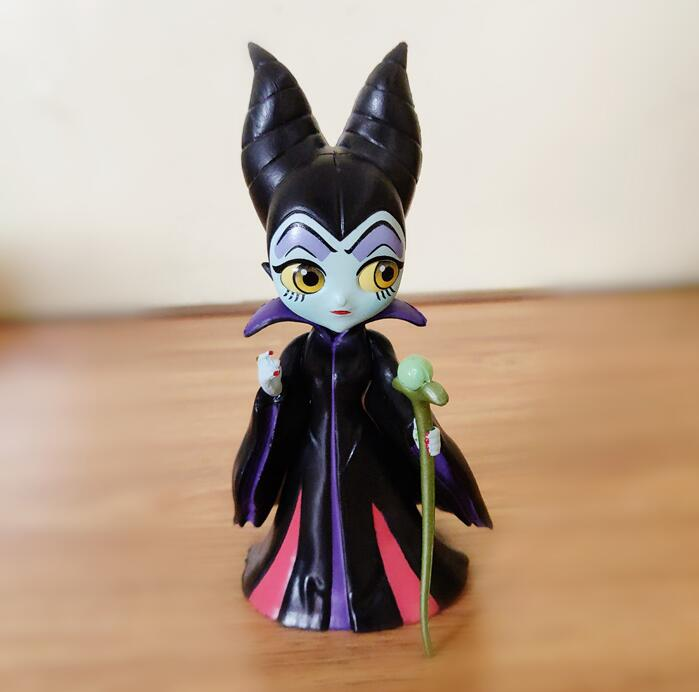 Qposket Maleficent Sleeping Beauty Cute Figure Model Toys For Girls