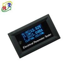 RD 7в1 OLED Многофункциональный тестер, измеритель напряжения, тока, времени, температуры, емкости, Электрический вольтметр, амперметр