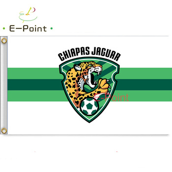 Mexico Liga Chiapas F.C 3ft*5ft (90*150cm) Size Christmas Decorations for Home Flag Banner Gifts image
