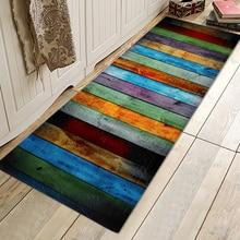 새로운 크리 에이 티브 다채로운 목욕 매트 홈 욕실 침실 미끄럼 매트 앞에서 가정용 욕실 러그와 매트 세트 카펫 1PC