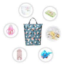 Новая многофункциональная сумка для детских подгузников многоразовая Водонепроницаемая Переносная уличная сумка для детских подгузников дорожная сумка для подгузников