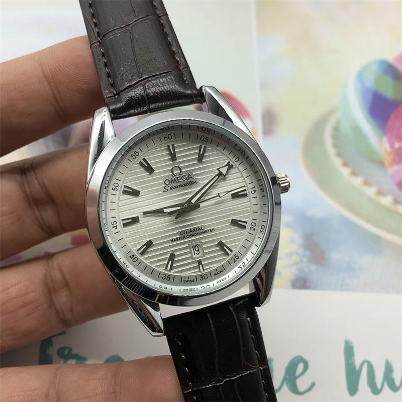 OMEGA- Europe and the United States in 2020 classic style European watch quartz calendarMen and women watch-3
