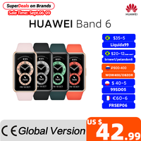 In stock  Huawei Band 6 Smartband Blood Oxygen 1.47'' inch Screen Heart Rate Tracker Sleep monitoring band 6 CODE:EOSSAFF7 50-7$ 1
