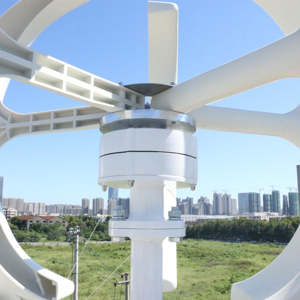 400w mini gerador de vento vertical 12v 04