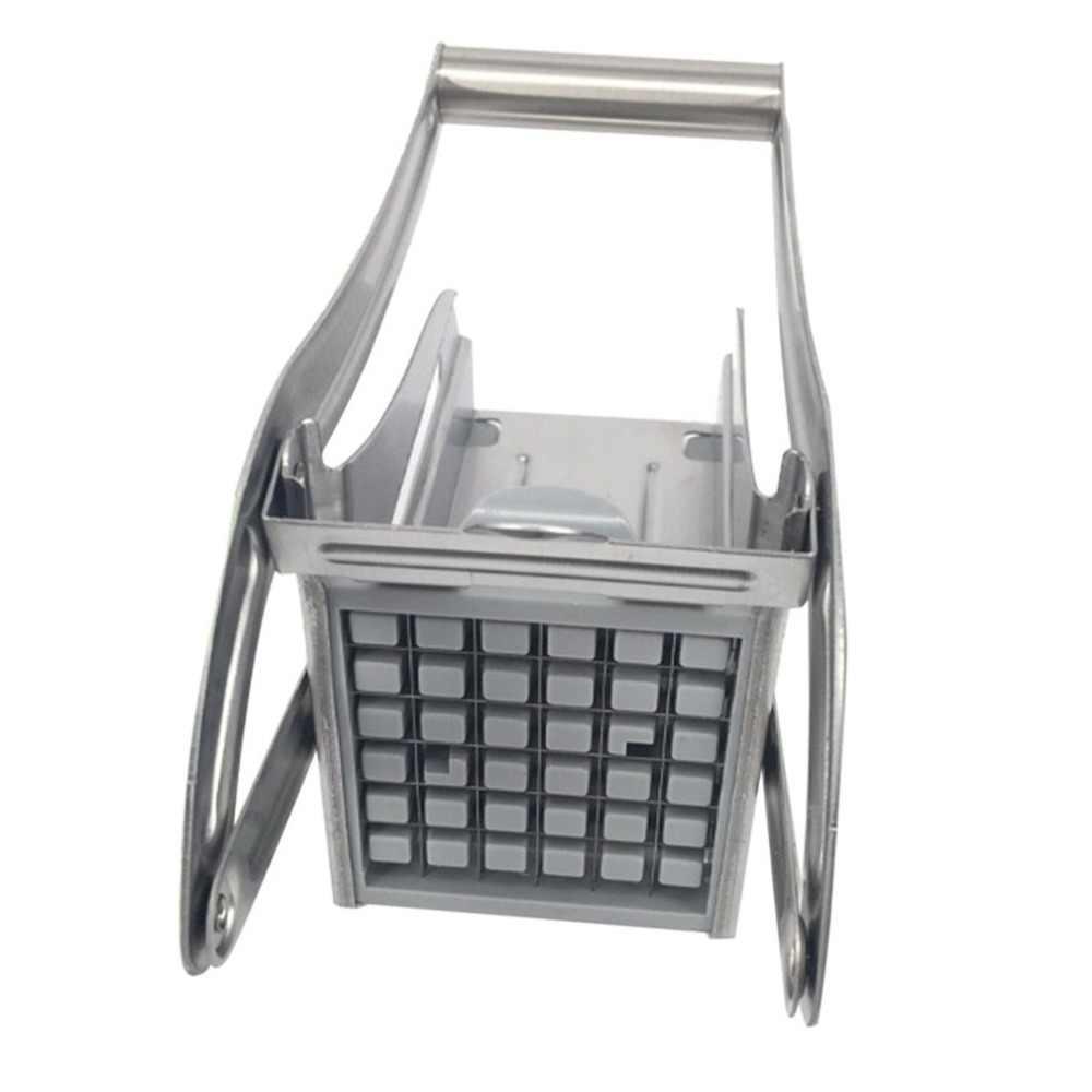 สแตนเลสสตีลมันฝรั่งทอด Chipper เครื่องตัดแตงกวา Chopper KITCHEN Gadgets ครัวเครื่องมือทำอาหาร