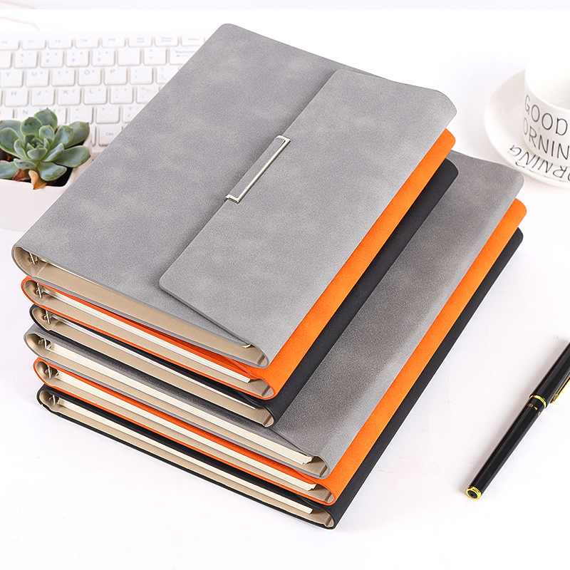 2019 2020 Binder Gift Notebook Pu Leather Bible  Notepad Folder A5 Diary Weekly Planner Agenda Planner Note Books Travel Journal
