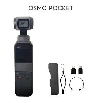 DJI Osmo Pocket la cámara de mano estabilizada de 3 ejes más pequeña nueva marca original DJI osmo en stock
