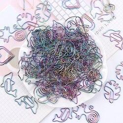 5 штук упак. Дельфин бумажный зажим для офиса информация классификация скрепки для бумаги необычной формы Красочные мультфильм фото зажимы ...