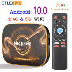 2020 Hottest HK1 RBOX Smart Tv Box Android 10.0 4K 2gb 4gb 16gb 32gb 64gb Quad Core media player Netflix Google Voice Assistant(China)