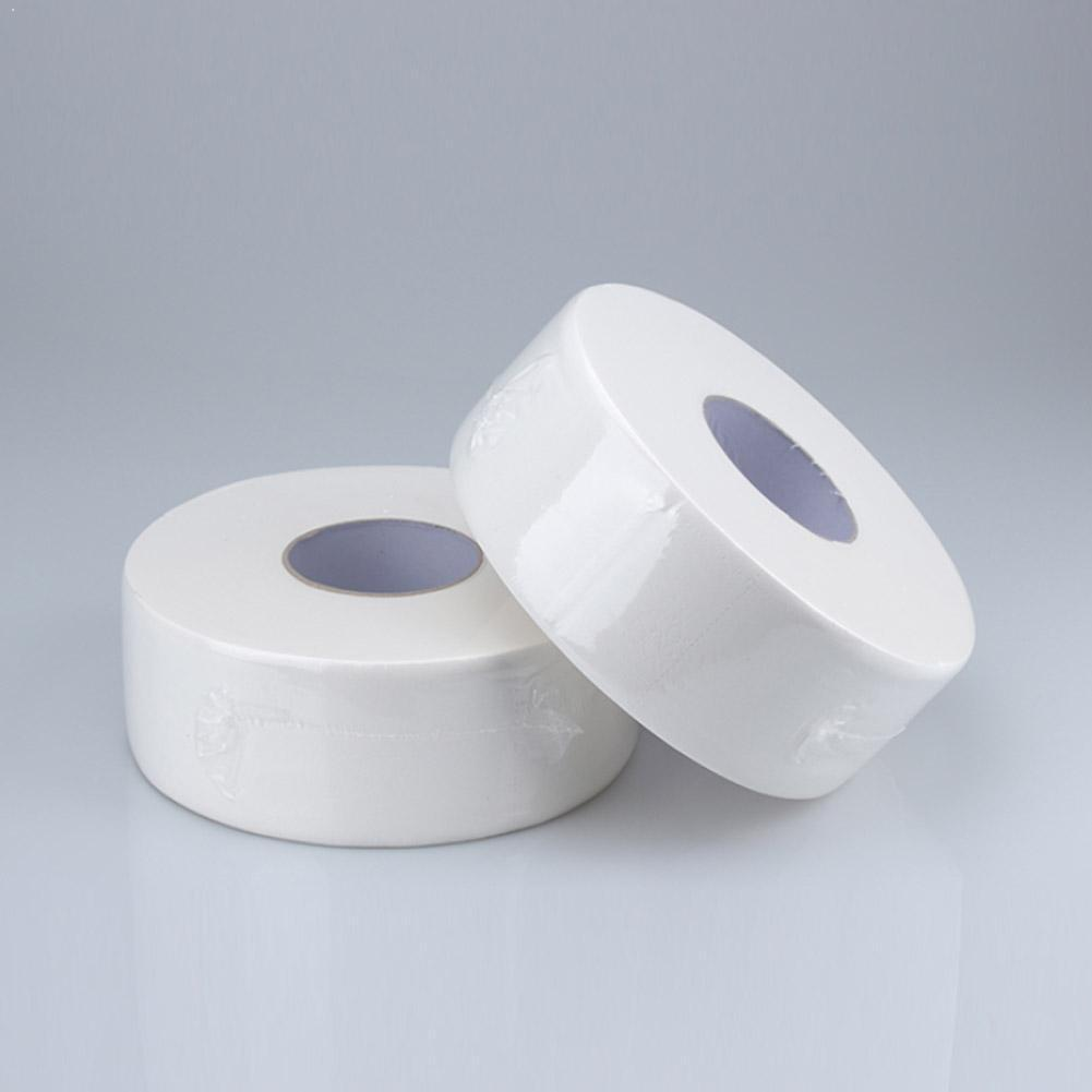 Large 4Ply Jumbo Roll Bathroom Toilet Tissue Paper 1 Roll Bathroom Supplies Office Household Roll P5W4